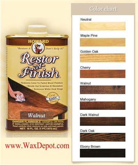 howard restor a finish color chart howard s restor a finish 174 did you sleepy poet sells