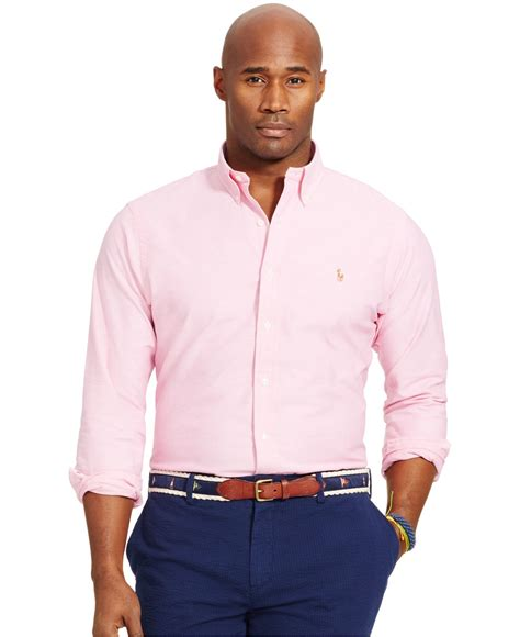 polo ralph s big and stretch oxford shirt