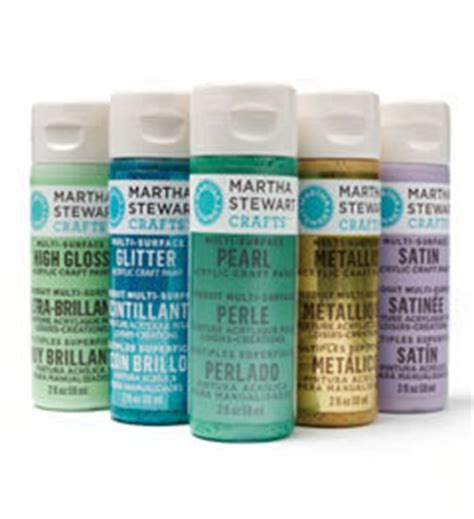 martha stewart crafts pearl paint
