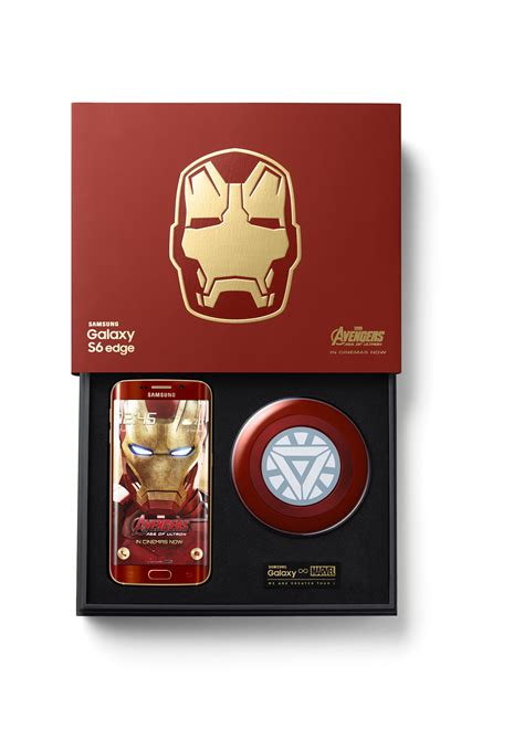 Samsung Galaxy S6 Ironman Edition this is samsung s limited edition iron galaxy s6 edge