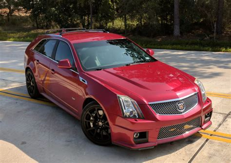 Cadillac Ctsv Wagon For Sale by 2011 Cadillac Cts V Wagon 6 Speed For Sale On Bat Auctions