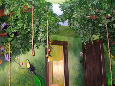 rainforest bedroom jungle rooms design dazzle