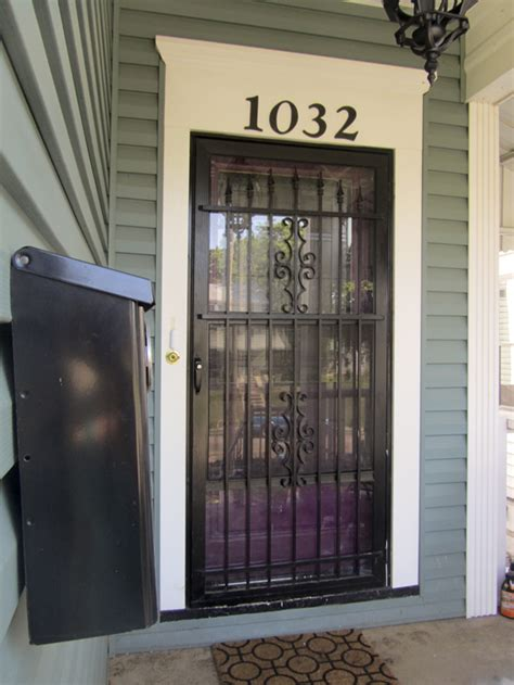 Change Out Your Screen Door With A Stylish Security Door Front Door Security Screen