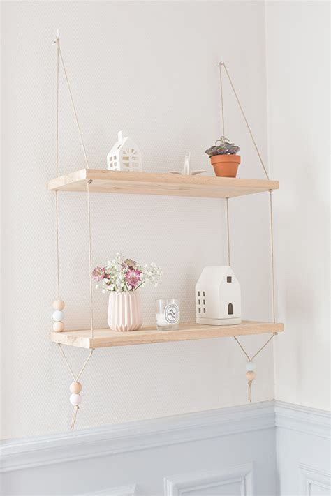 etagere diy diy 233 tag 232 re suspendue carnets parisiens