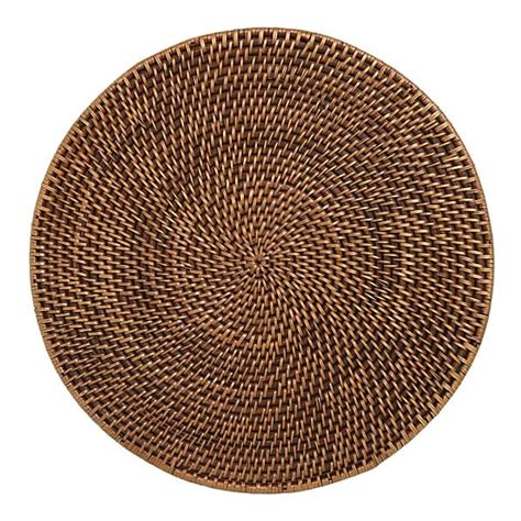 Rattan Place Mats by Rattan Placemat Crate Barrel
