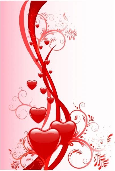 Valentines Card Landscape Templates Free by Free Vector 2 653 Free Vector For
