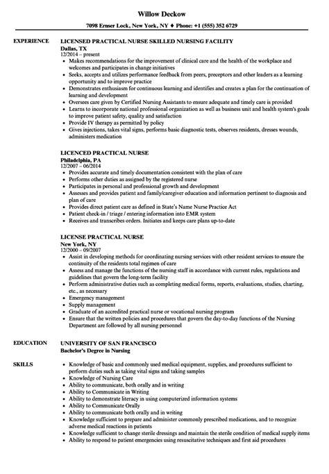 lpn resume examples resume examples resume sample new graduate