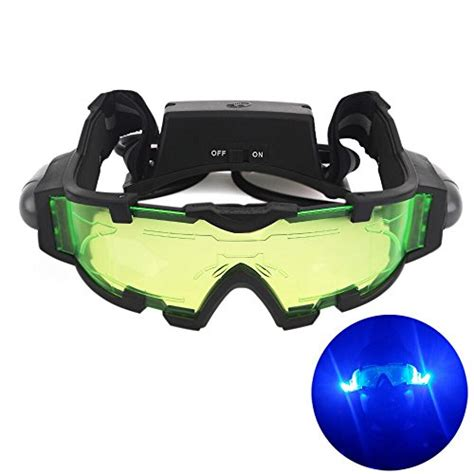vision 14 lights out agm adjustable night vision 25 feet goggles with flip out