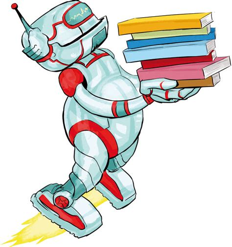 robot reading robot reading how to master your attention and focus your reading speed remember more learn faster and get more done in less time books robot reading a book to clipart clipartfest robot