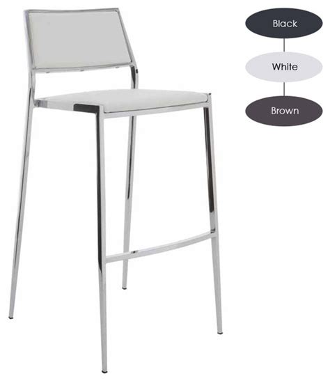 Stackable Bar Stools Modern by Aaron Stackable Counter Stool Set Of 2 White Modern