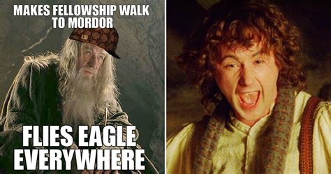 lotr memes 25 lord of the rings logic memes that prove the series
