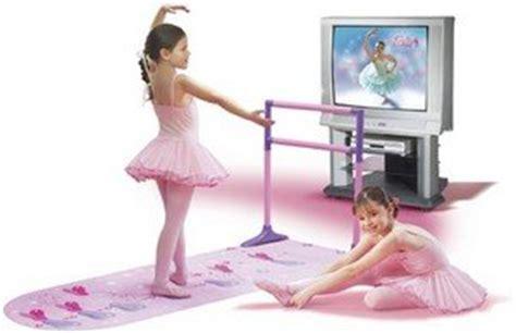 Ballerina Mat And Bar by Dancerella Home Ballet Studio With Dvd