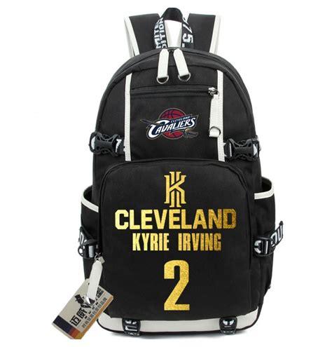 kyrie irving logo backpack school bags