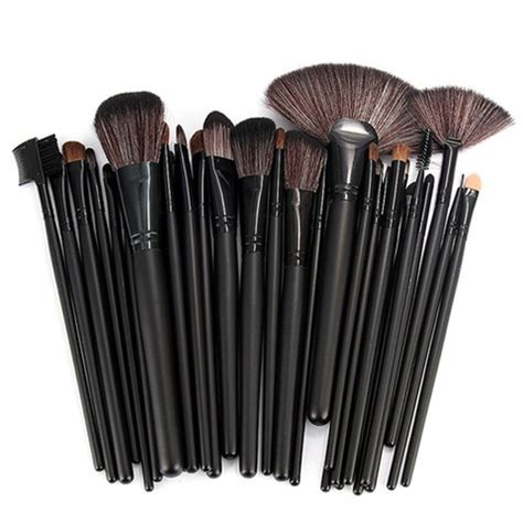 Kkw By Cosmetik Isi 12pc 1 32 makeup brush set with in black my make up brush set us