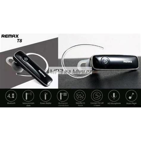Earphone Bluetooth Remax Rb T8 remax rb t8 bluetooth headset zlat 253 mp3namiru cz