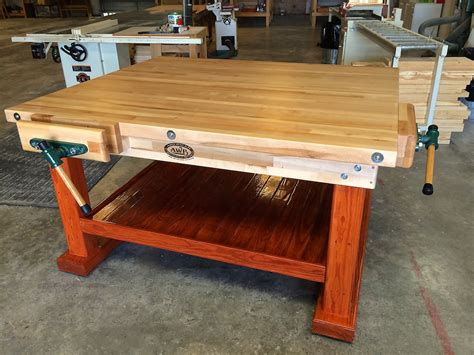 garage work bench for sale workbenches wooden garage workbenches made in u s a