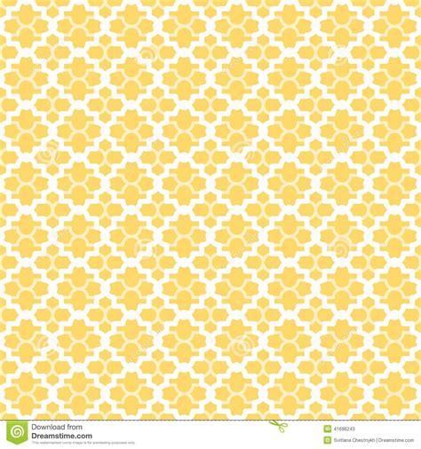 yellow lattice pattern quatrefoil lattice pattern stock vector image 41696243