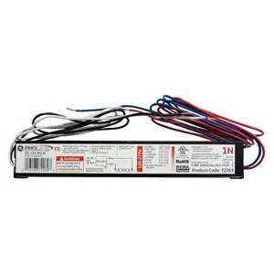 ge 120 to 277 volt electronic ballast for 4 ft 1 l t8