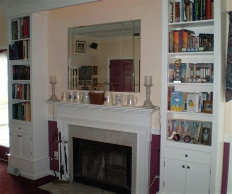 Bookcase Fireplace Surround by Fireplace Surround Bookshelves