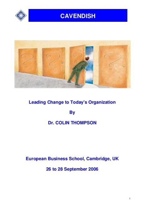 Ebs Mba Login by Ebs Leading Change To Today S Organisation Now