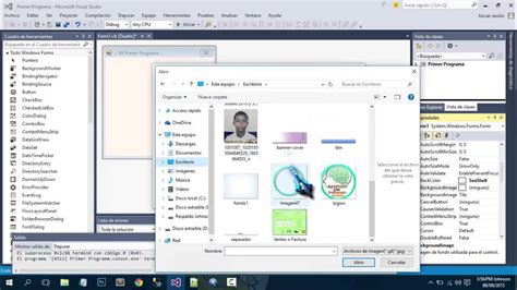 tutorial visual basic 2015 mi primer programa en visual basic 2015 2 viyoutube