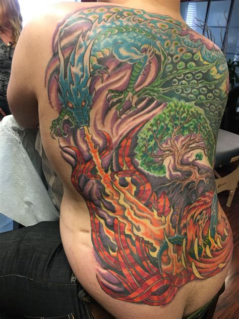 best tattoo shops nyc color and nature rising one of the best