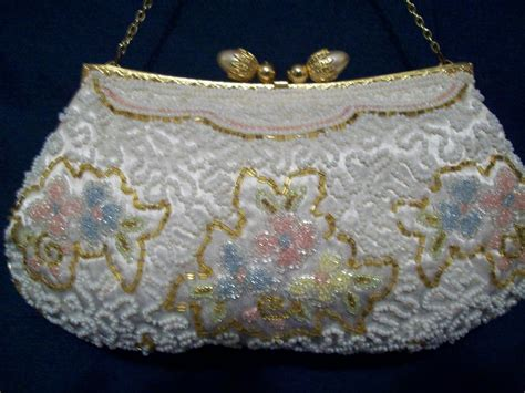 Handmade Evening Bags - beaded evening bag handmade from cbe on ruby