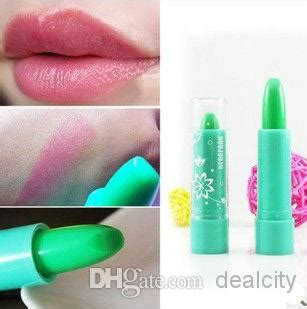 Lipstick Hengfang Magic Color lipstick that changes color with temperature the of
