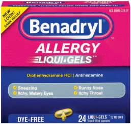 We have a nice price cut on benadryl allergy liqui gels at target