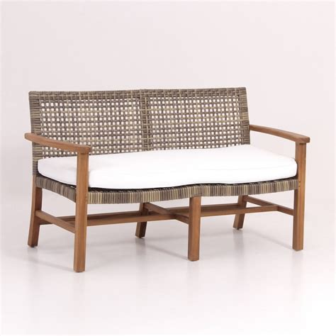 rattan garden bench synthetic rattan garden bench best supplier and exporter