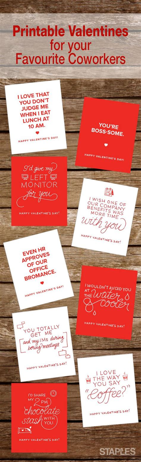 valentines day gifts for coworkers printable s day cards scrapbooking store