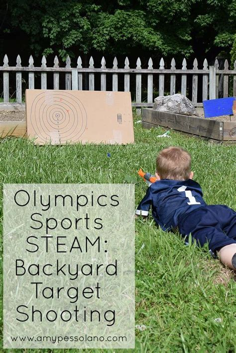 backyard baseball steam olympic sports steam backyard target shooting our kids