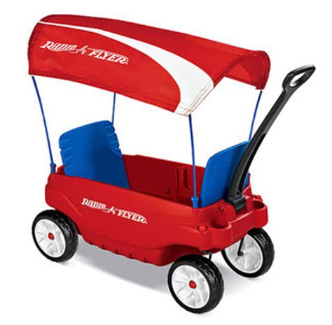 radio flyer the ultimate comfort wagon get the radio flyer ultimate comfort wagon with canopy for