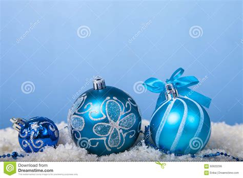 snow decorations decorations in the snow stock photo image