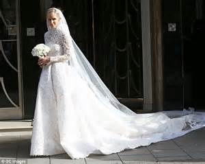 Nicky Hilton's flower girls wore gowns by Crown Princess Marie Chantal of Greece   Daily Mail Online