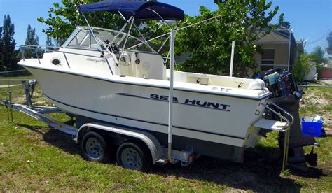 sea hunt victory boats sea hunt 215 victory 2004 for sale for 12 500 boats