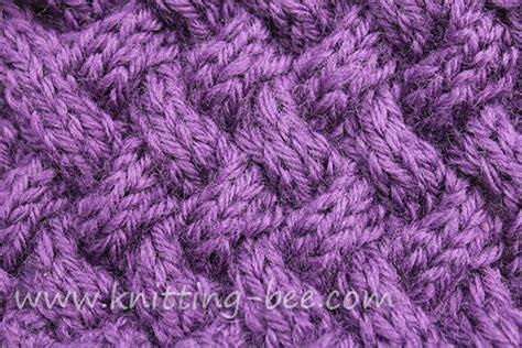 basket stitch in knitting free basketweave stitch patterns knitting bee 12 free