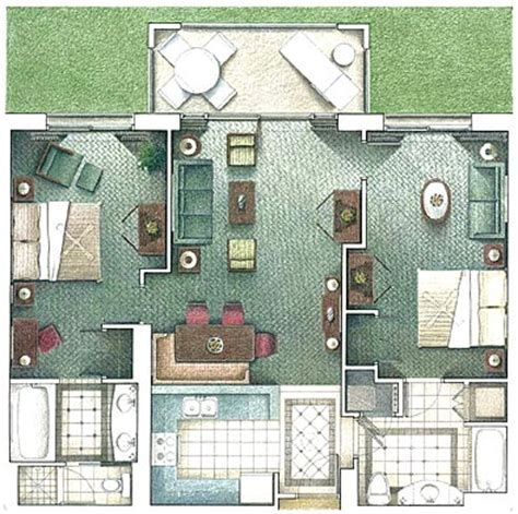 marriott waiohai beach club floor plan floor plans may vary