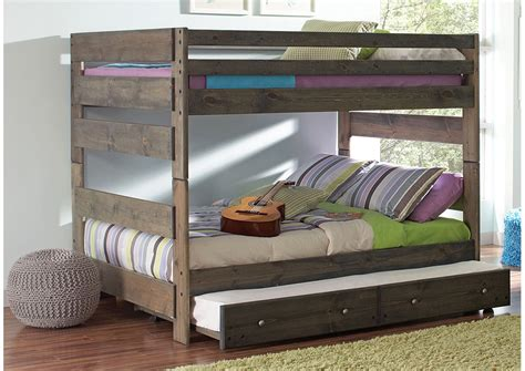 storage bunk beds furniture world nw full full grey bunk bed storage not included