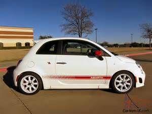 Custom Fiat 500 Abarth 2012 Fiat 500 Abarth Dealer Customized 217 Hp Custom Ecu