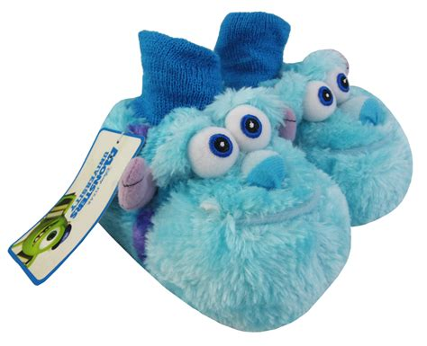 baby boy house shoes baby infant girls boys monsters inc fun warm novelty slippers size 5 6 7 8 9 10 ebay