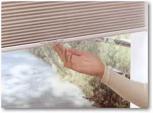 Window Blinds Bottom Up Hunter Douglas Duette Literise Cordless Lifting System