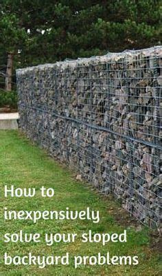 how to level a sloped backyard how to inexpensively solve your sloped backyard problems