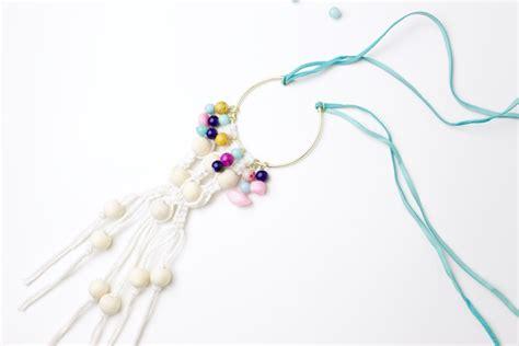 Where Did Macrame Originate - diy macrame necklace make do studio