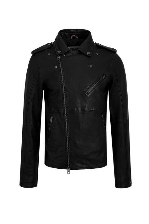 Leather Biker Jacket 52 biker 52 jacket black gomez pl en