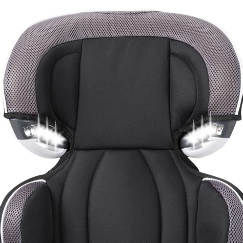 booster seat with lights amazon com evenflo big kid lx high back booster car seat
