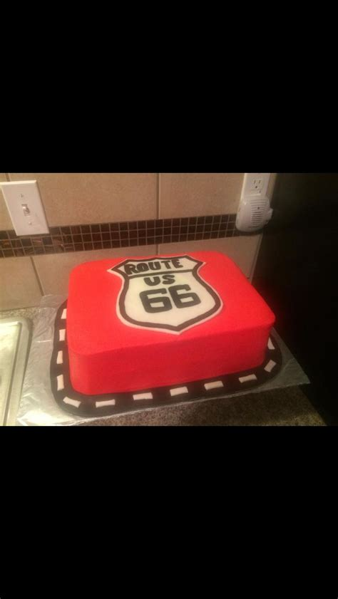 """Would change to """"Route 16"""" for 16th birthday.   Cool cakes"""