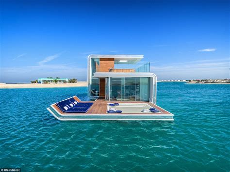 Kitchen Layout Island by Dubai S Floating Seahorse Villa At Heart Of Europe Resort
