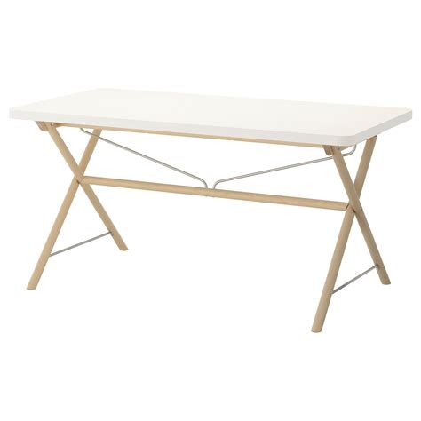 Ikea Birch Dining Table Rydeb 196 Ck Table White Dalshult Birch 150x78 Cm Ikea