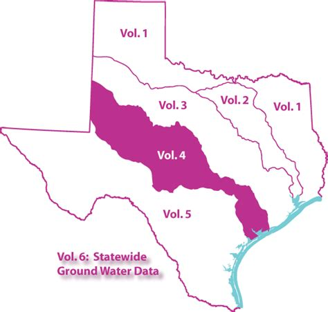 colorado river texas map water resources data texas water year 1999 volume 4